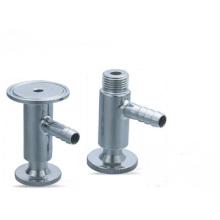 Vanne d'échantillonnage sanitaire en acier inoxydable de série W