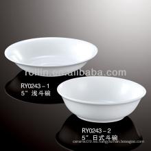 De buena calidad cereal tazón de porcelana