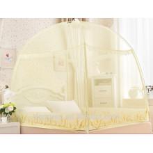 Moustiquaire 100% polyester pliée pour lit double