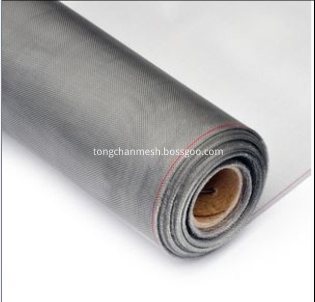 Aluminum Mesh Roll Filter