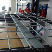 Étagère en métal d'entrepôt de stockage industriel de support en métal en métal de Chine