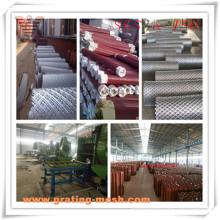 Galvanisé / PVC revêtu / moulé en métal expansé pour la clôture
