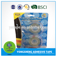 transparent tape with dispenser