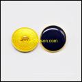 Botón de caña con negro epoxi
