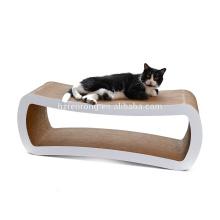 Vente chaude Haute quantité usine populaire chat scratcher / chat salon canapé pet gratter carton ondulé CT-4025