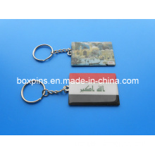 Printing Metal Key Chain (BOX-LUK-metal key chain-029)