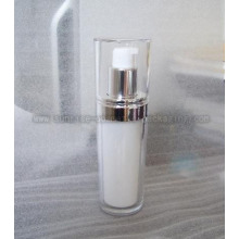 50ml Clear Slanting Round Acrylic Toner Bottle Cosmetic Bot