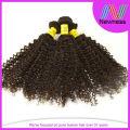 Virgin Brazilian Short Hair Brazilian Curly Weave