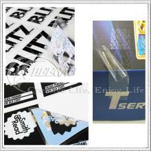 Autocollant en vinyle transparent (KG-ST018)