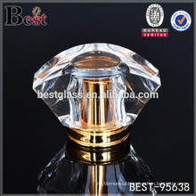 special design crystal perfume cosmetic bottle cap, surlyn cosmetic bottle cap for perfume bottle