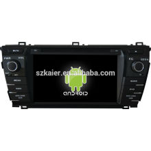 Android ! car dvd gps for 2014 corolla Prado +android 4.2 +dual core +capacitive touch screen+OEM