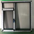 Custom PVC doors and Windows aluminum profile double hung window frame aluminum profiles