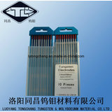 High Density 19.1 Wt20 Polished Tungsten Electrodes Dia2.4*175 for TIG Welding