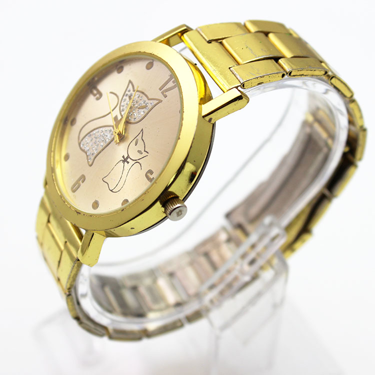 2015 style metal bracelet watch