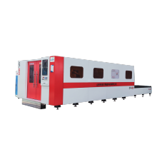 Fully Enclosed fiber laser cutting machine steel