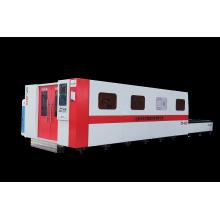 Máquina de corte por láser de fibra completamente cerrada de acero