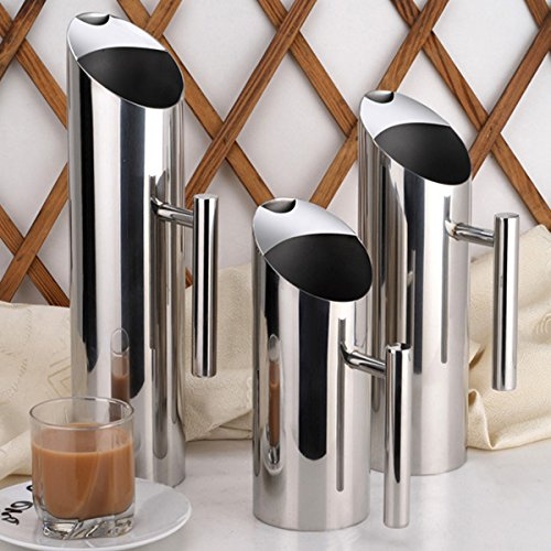 Colder Longer Stainless Steel Water Pitcher 5