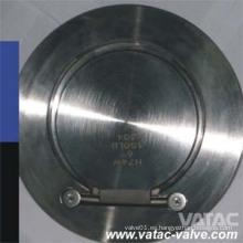Válvula de retención de la aleta fundida Wcb / Lcb / Ss304 / Ss316