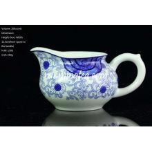 """""""Orchid Ratan"""" Painting Blue & White Porcelain Pitcher, 200cc/pitcher"""