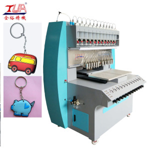 Soft Plastic Dispensing Machine for Key chain