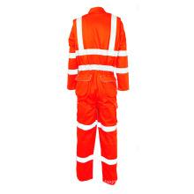 Combinaison de vêtements de travail en tissu résistant au feu