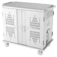 Armário do trole da sincronização do carregador da estação de carregamento de ZMEZME multi tabuleta para o ipad