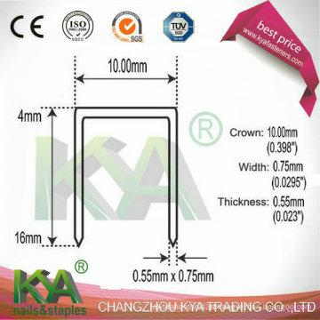 Série pneumática 14 Staples para a indústria de Furnituring,