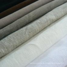 100% Leinen Stoff Pure Leinen Stoff Kleidungsstück Leinen Stoff