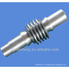 precision worm shaft/forged shafts,linear shaft