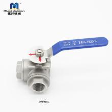 La fábrica proporciona directamente la alta calidad Útil personalización Válvula de bola de 3 vías