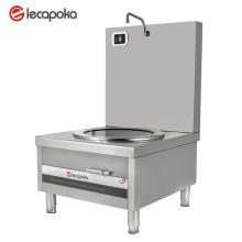 Cocina de inducción de metal