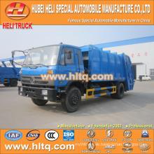 DONGFENG 4x2 12 M3 Hinterlade-Müllwagen mit Pressmechanismus Dieselmotor 190 PS
