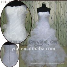 РСВ-23 высокое качество 2011 новый дизайн дамы модные элегантные красивые рябить платье невесты