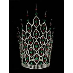 12 Inch Rhinestone Pageant Miss World Crown