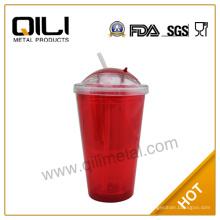 16oz BPA бесплатно новый продукт пластиковый стакан кружка с sipper