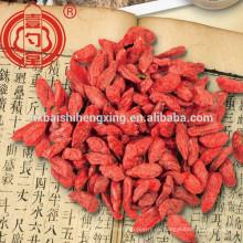Ningxia Gou Qi Zi chino Wolfberry secado Baya de goji Ningxia bayas goji secado