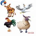 Etiqueta animal do tatuagem da venda 2018 quente