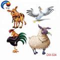 2018 Горячей Продажи Татуировки Наклейки Животных