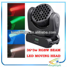 36 3W Cree LED moving head wash beam
