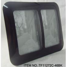 Einfaches gebogenes Glas Fotorahmen