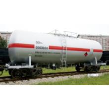 wagon-citerne de pétrole léger de niveau 70t gq70