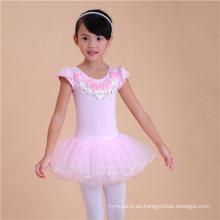Vestidos de tutú para estudiantes de escuela primaria con precio de fábrica Niños Dancewears para capacitación
