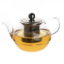 Hot Sell Flowering Tea set Chikao Glass Teapot