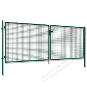 1000 X 3000mm Double Garden Gate