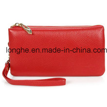Echtes Leder High-Capacity Clutch Bag (ly0120)