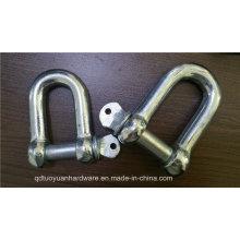 Haber galvanizado eléctrica nos tipo tornillo de acero Pin D grillo