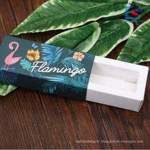 Boîtes d'emballage liquide à lèvres pour cosmétiques avec votre propre logo