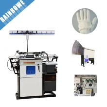 HX-305 alta qualidade automática eficiente trabalhando algodão luva máquina de confecção de malhas