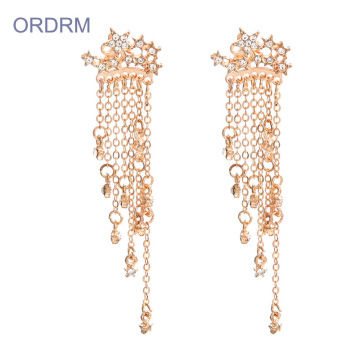 New Trendy Small Tassel Drop Earrings