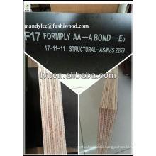 17*1200*1800mm F14/F17 Formwork plywood for Australia market